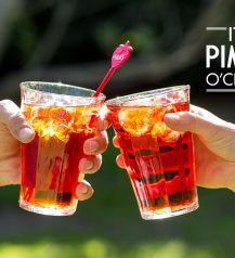 strawberry pimms
